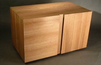 View Cube (Oak TV Cabinet)