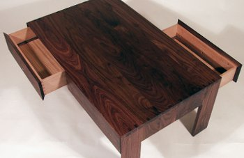View Low Rider (Solid American Black Walnut Low Table)