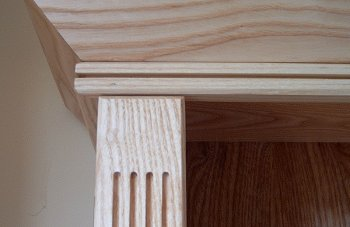 View Restricted Access (Solid Ash Shelves)